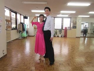楽しいですよー (-_^)♪ Shall we ダンス?